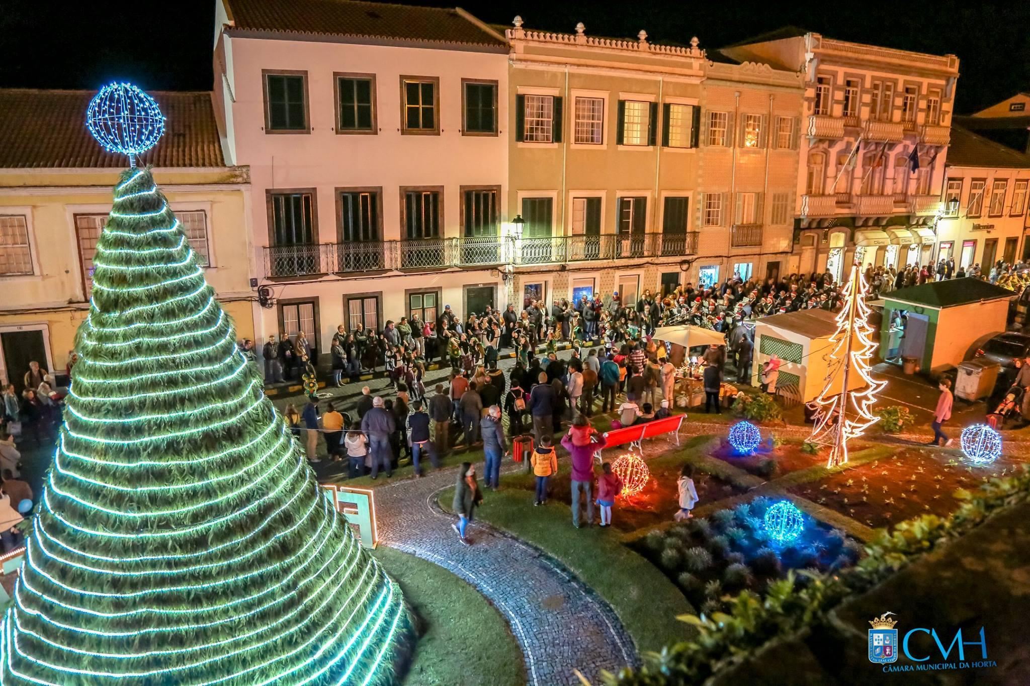 Decorações de Rua e Iluminação de Natal nos Açores 2018