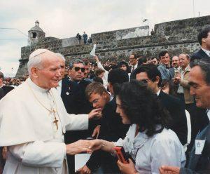 Top Azores: Visita do Papa João Paulo II aos Açores
