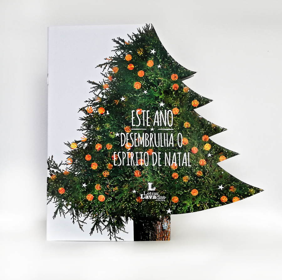 Isto começa a parecer-se muito com o Natal na Livraria Letras Lavadas