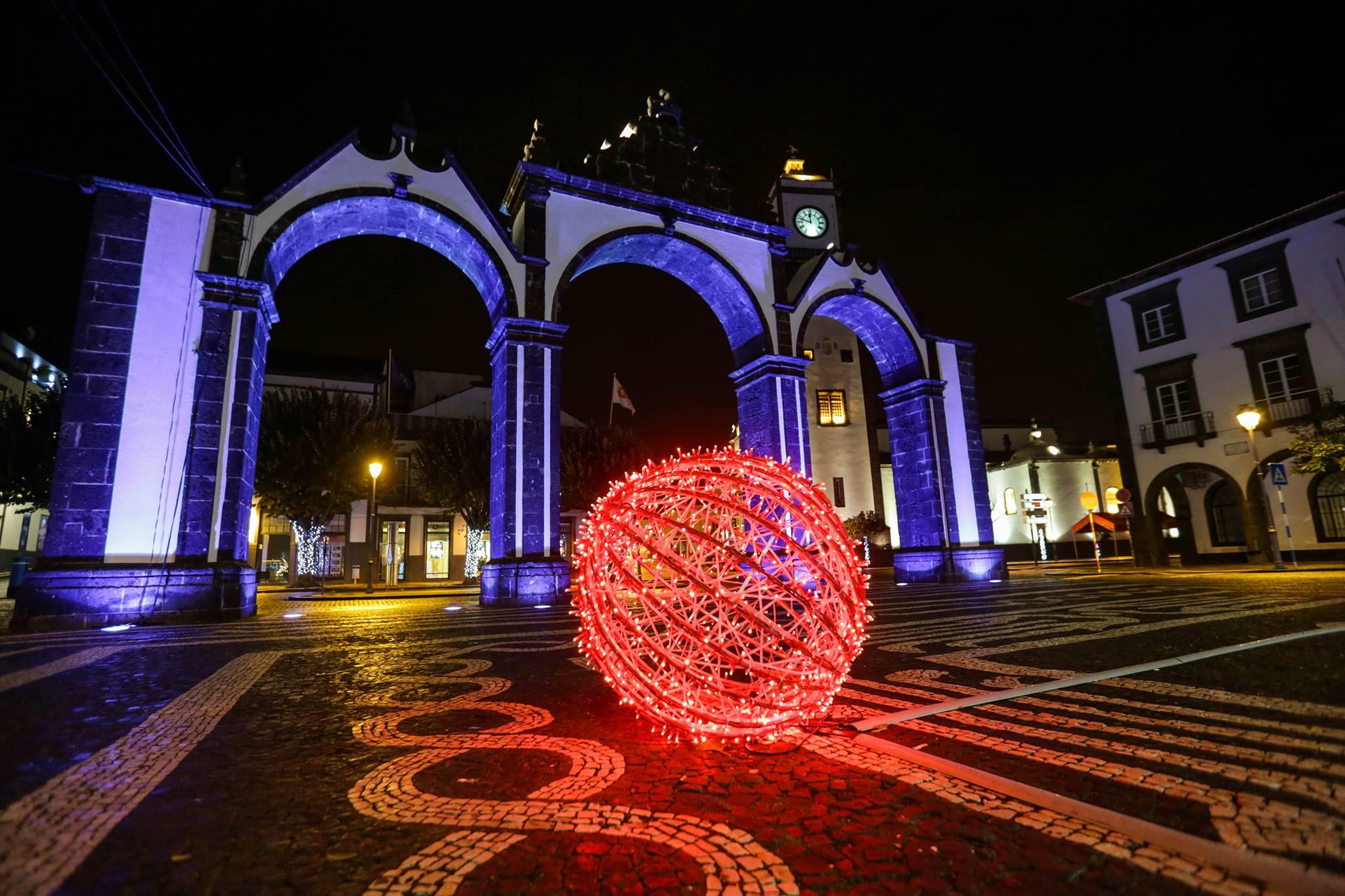 Programa de Natal em Ponta Delgada 2019