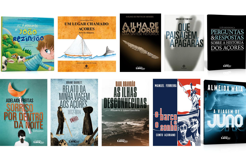 Top Azores: Títulos Letras Lavadas recomendados pelo Plano Regional de Leitura