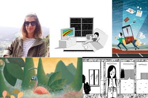Top Azores: 10 ilustrações da Sara Azad que provavelmente nunca viu + Mini Entrevista