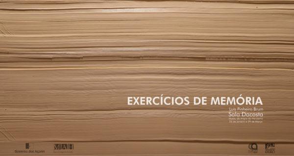 Exposição Exercícios de Memória, de Luís Brum
