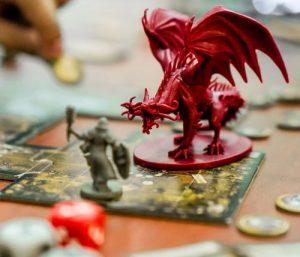 Jogos de tabuleiro RPG