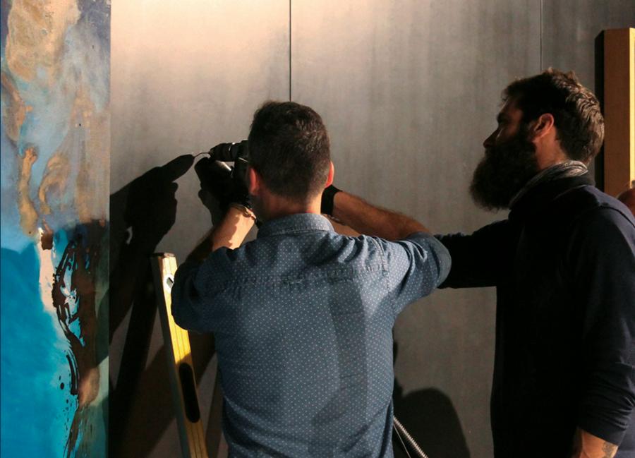 planeamento e montagem de exposições