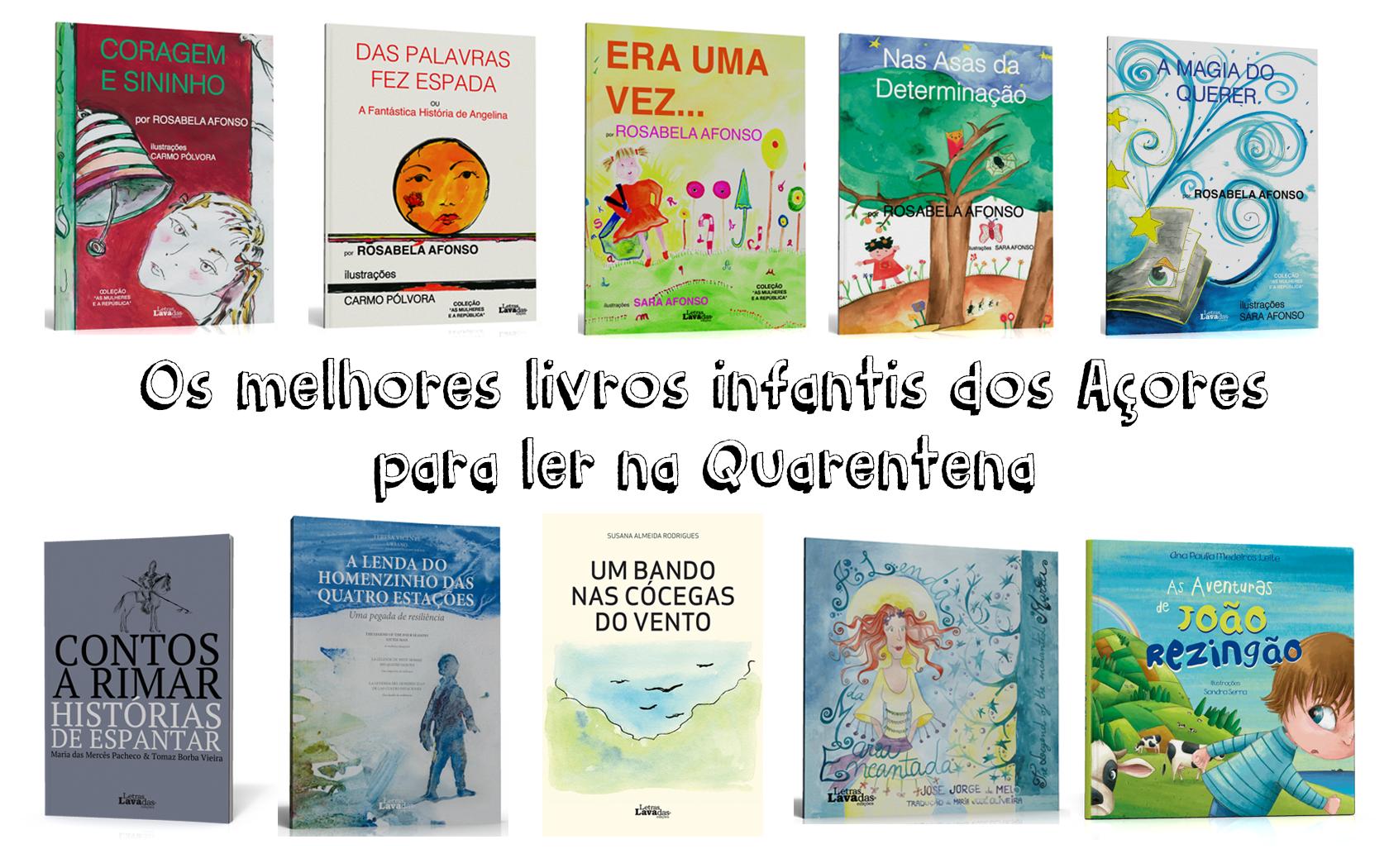 Top Azores: Os melhores livros infantis para ler na Quarentena