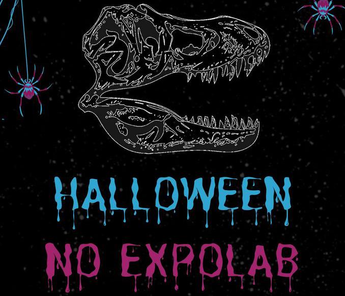 Halloween no Expolab