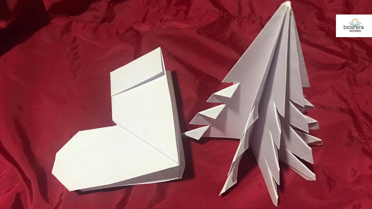 Origamis de Natal – PN São Jorge