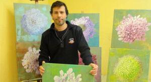 Exposição de pintura Saudade de Martim Cymbron