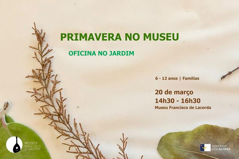 Primavera no museu Francisco de Lacerda