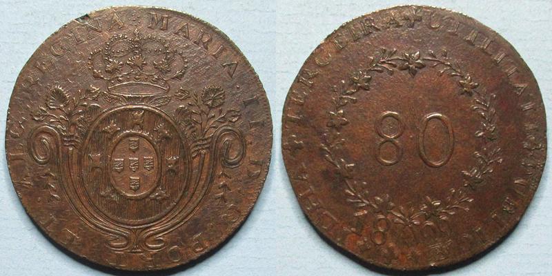 """Lançamento da réplica da moeda """"Maluco"""" 80 Reis"""