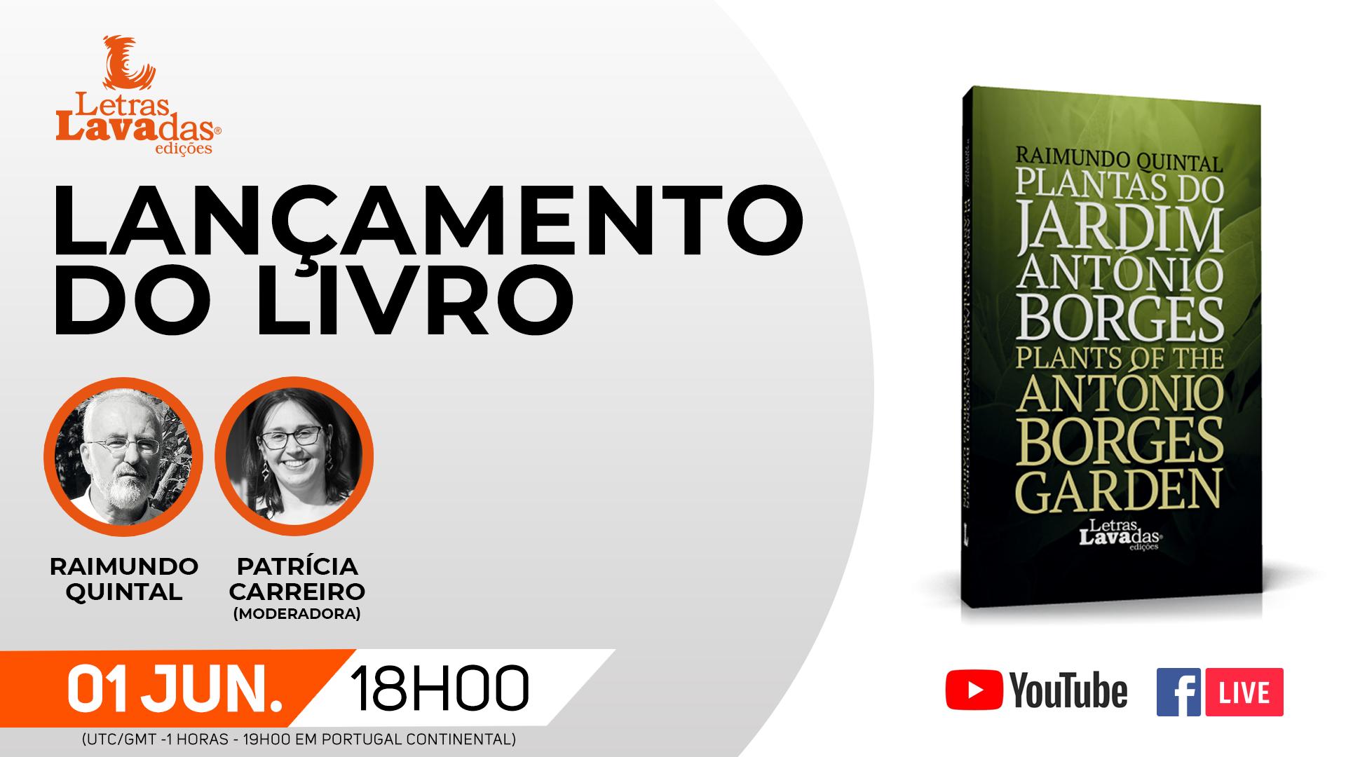 """Lançamento do livro """"Plantas do Jardim António Borges"""""""