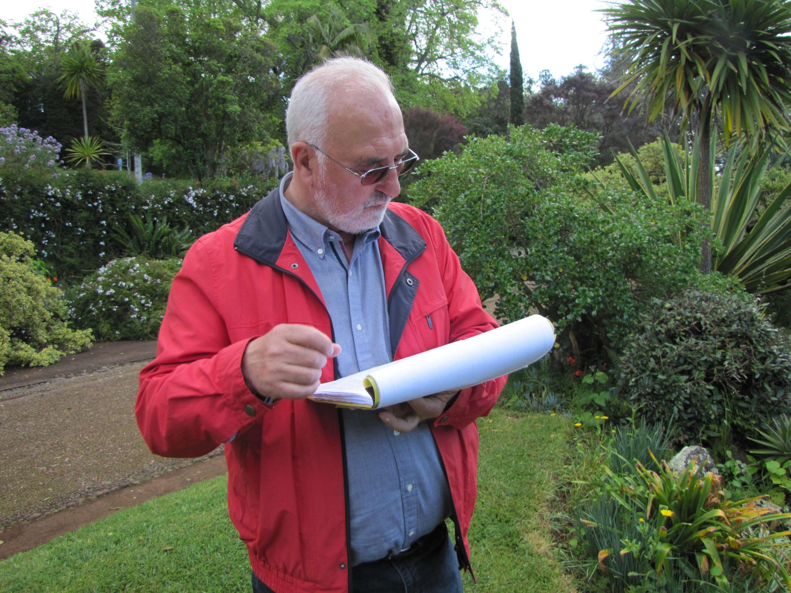 Raimundo Quintal: «É tempo de olhar para os jardins como unidades de paisagem complexas e valiosas, com enorme potencial turístico»