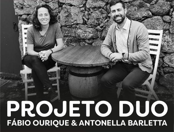 Projeto Duo: Fábio Ourique e Antonella Barletta