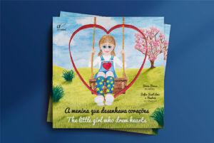 """Apresentação do livro """"A menina que desenhava corações"""""""