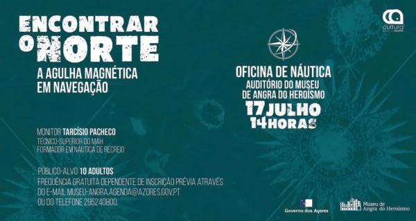 """Read more about the article Oficina de náutica """"Encontrar o Norte: a agulha magnética em navegação"""""""