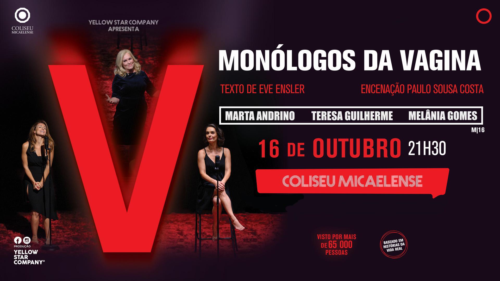 Read more about the article Monólogos da Vagina no Coliseu Micaelense