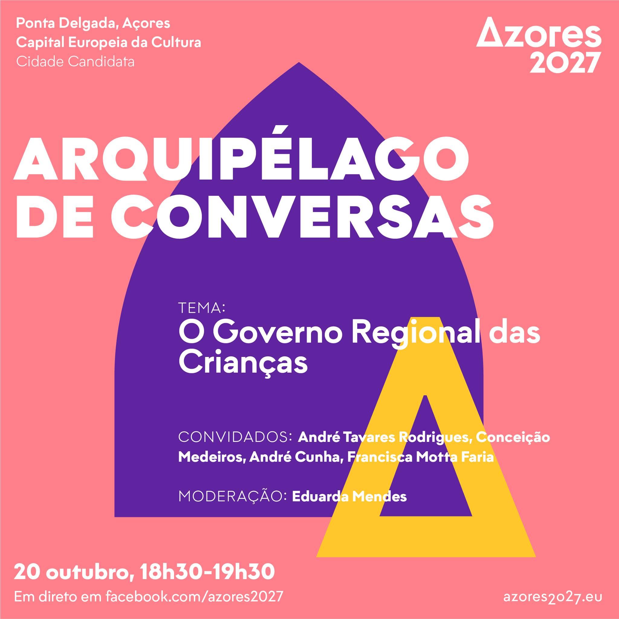 Read more about the article O Governo Regional das Crianças – Arquipélago de Conversas