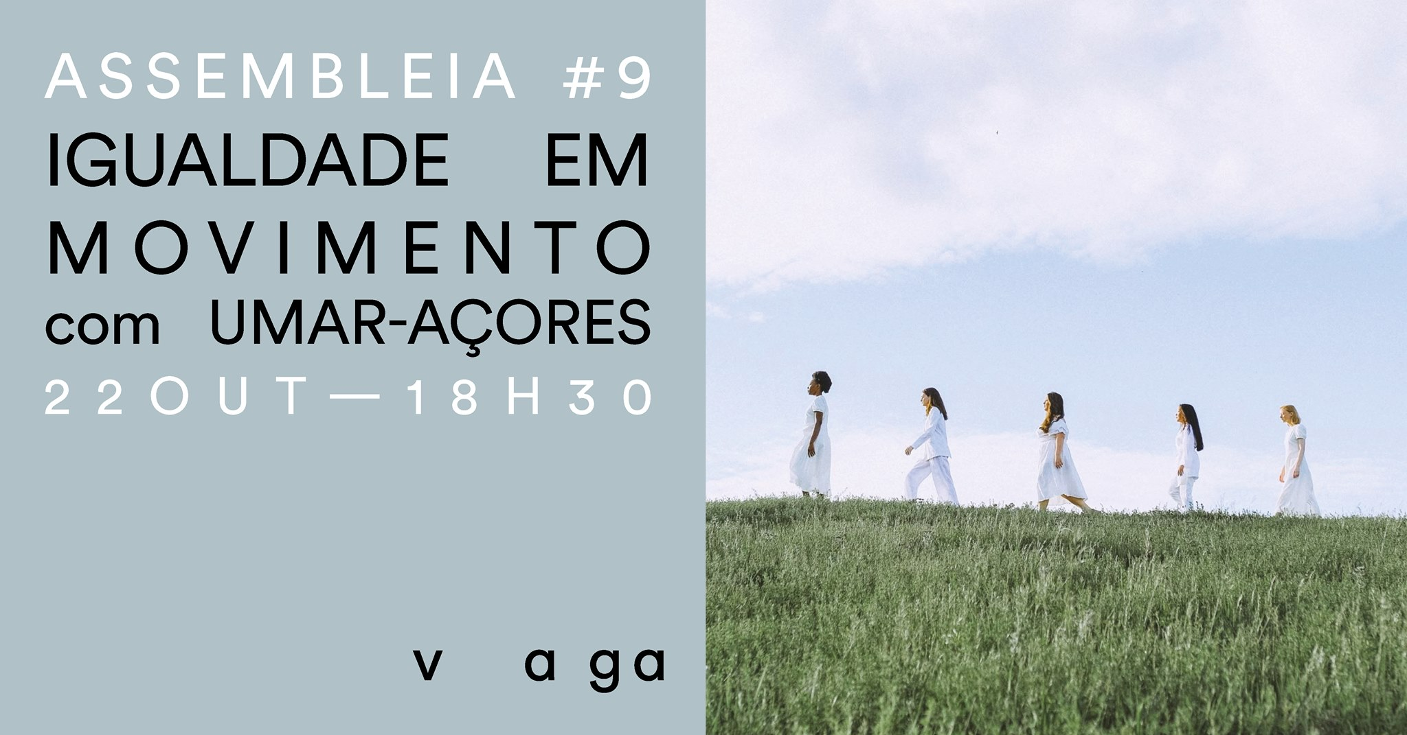 """Read more about the article Assembleia #9 – """"Igualdade em Movimento"""" com UMAR-Açores"""